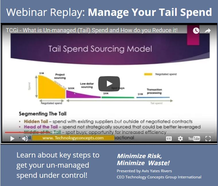 How To Manage Tail Spend Webinar Replay