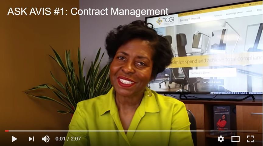 Ask Avis Webisode Series #1: Contract Management