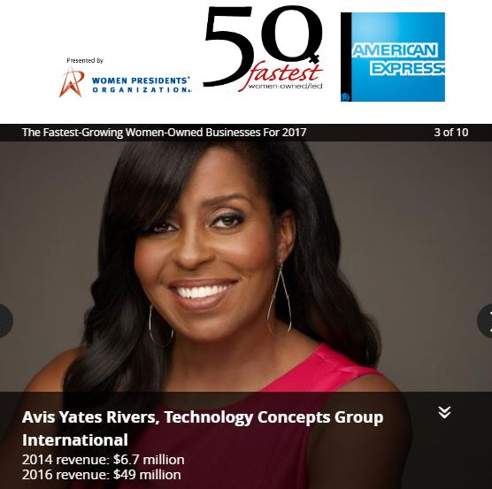 TCGi in Top Three of 50 Fastest-Growing Women-Owned/Led Companies Featured in Forbes & Fortune